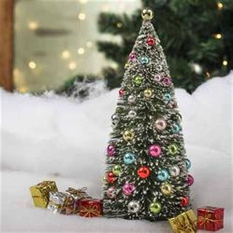 melbourne and 60cm bottle brush christmas tree frosted bottle brush tree table decor and winter crafts