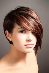 coupe de cheveux asym 233 trique pour rond coiffure