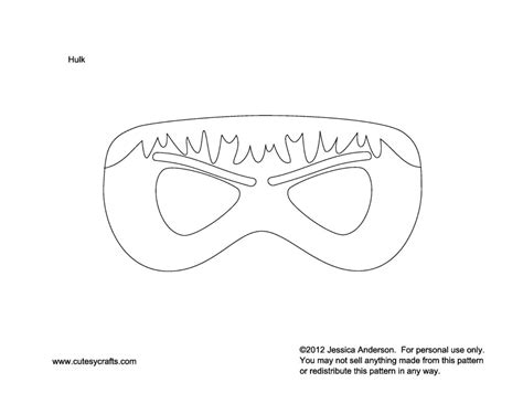 hulk mask coloring pages best photos of hulk mask template printable hulk mask cut