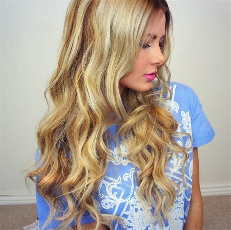 does your hair get looser or curlier with length curly my go to loose curls tutorial barefoot blonde by amber
