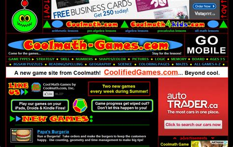 Coo Mat by Cool Math Free Cool Math Lessons Cool Math