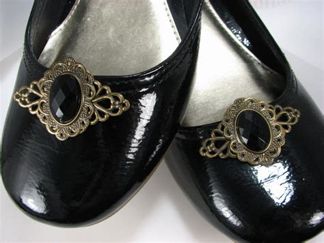 Shewelry Jewelry For Your Shoes by Jet Black Shoe Fancy Filigree Jewelry For Your 1