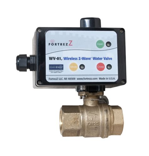 z wave wireless z wave water valve 3 4 inch z wave products