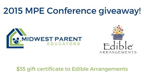 Best Conference Giveaways - homeschool conference tips and edible arrangements giveaway midwest parent educators