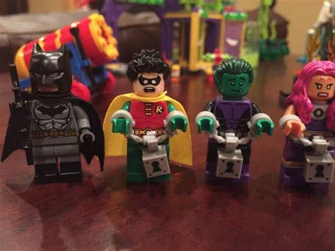 Starfire Minifigure Dc Superheroes lego batman jokerland 76035 set review photos bricks