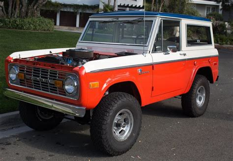 baja bronco for sale rare baja edition 1973 ford bronco offroad for sale