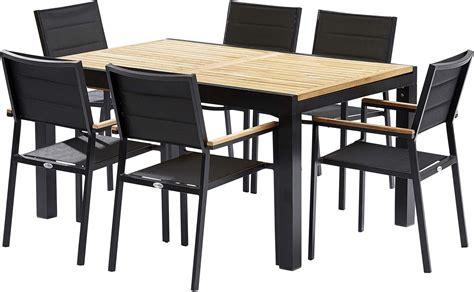 table  chaises de jardin moderne bali