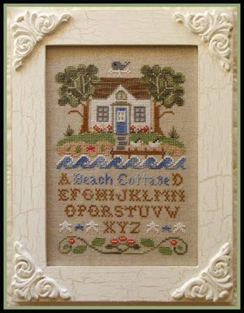 country cottage needleworks pumpkin cottage cross stitch pattern 123stitch com country cottage needleworks summer seascape sandollar