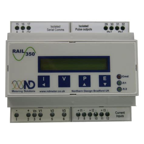 Multi Function Meter northern design power rail 350 multi function meter
