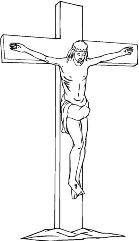 coloring pages jesus crucified 5 jesus crucifixion printable coloring pages for