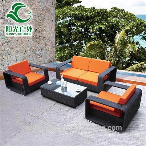 2016 hot sale cheap rattan garden sofa set outdoor rattan