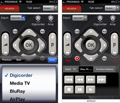 remote app for android universal remote app for android myuremote universal remote app