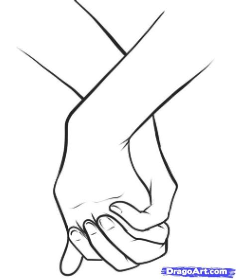 Sketches Holding by How To Draw Holding Step 12 Sketch