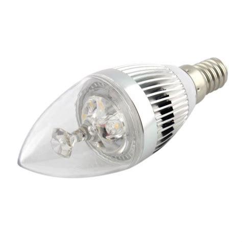 E14 Led Light Bulbs 6 Pack Energy Saving Led Candle Bulb Light L E14 3w 270lm Silver Sharp Warm White