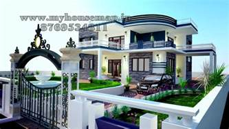 Best Home Architect Design India Tags 3d Indian House Model House Map Elevation