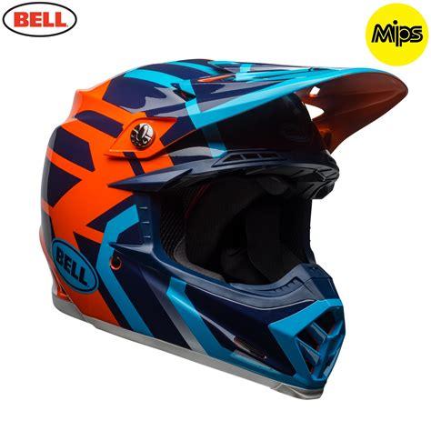 blue motocross helmet 2018 bell moto 9 motocross helmet district blue orange