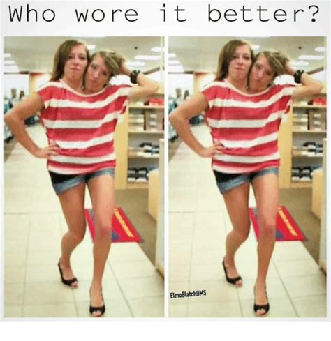Who Wore It Better by Who Wore It Better Elmo Blatch Dms Elmo Meme On Me Me