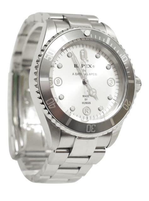 Bape Silver 1 bape bapex watches freshness mag