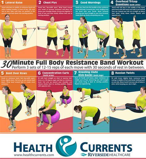 healthcurrents 187 30 min resistance band workout