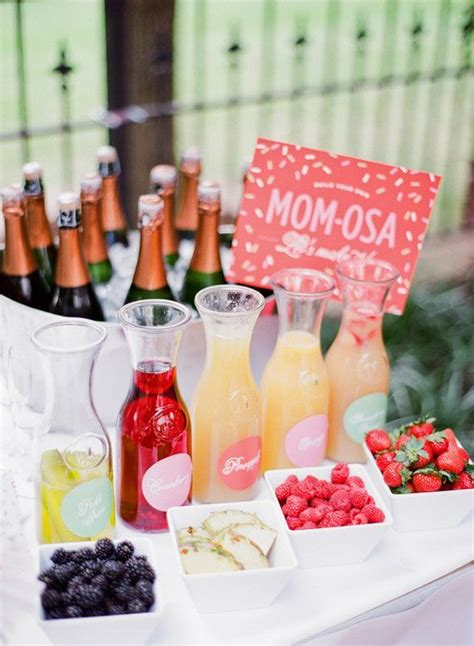 baby shower cocktail ideas 25 best ideas about baby shower decorations on