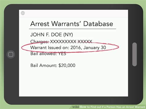 Find Out If Someone Has A Criminal Record How To Find Out If A Person Has An Arrest Warrant 10 Steps
