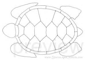 turtles outline make a turtle flap book stories and children