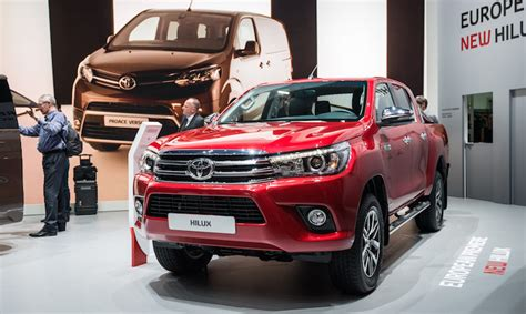 New Toyota Hilux Tougher Than New Toyota Hilux At Geneva Motor Show