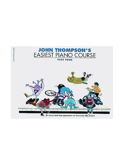 libro easiest piano course part john thompson s easiest piano course part 4 revised edition piano libros m 232 todos