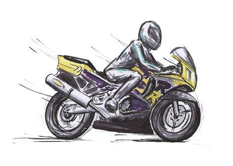 Motorrad Bilder Gezeichnet motorrad spiegel ausgezeichnete qualit 228 t e gezeichnet