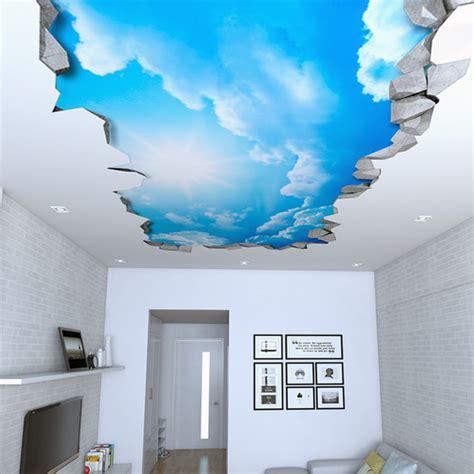 lade da soffitto design wandtattoo himmel 3d decken aufkleber decken dekor
