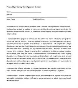 Personal Contract Template by Contract Template 12 Free Word Pdf Documents