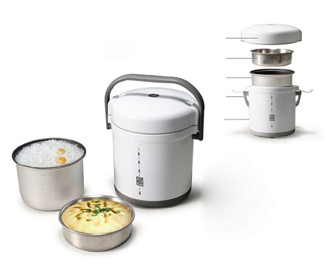 Mini Rice Cooker Akebonno new high quality white stainless steel mini cylinder rice cooker small pot ebay