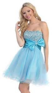 Short Light Blue Dress by Short Light Blue Prom Dresses
