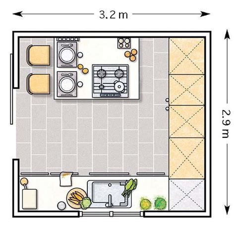 que es layout de cocina las 25 mejores ideas sobre plans de cocinas peque 241 as en