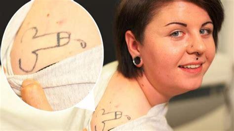 tato keren di kelamin model tato lucu yang dibuat saat mabuk segiempat