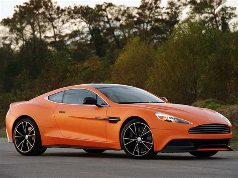 orange aston martin orange aston vanquish