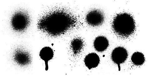spray paint vector free ink spray vector 123freevectors