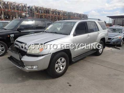 2004 Toyota 4runner Accessories Parting Out 2004 Toyota 4 Runner Stock 5170bl Tls