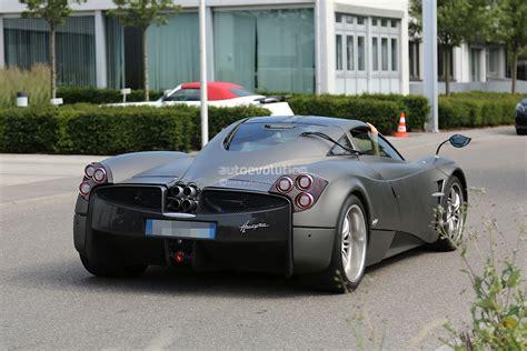 pagani huayra amg engine pagani huayra nurburgring edition spied testing more