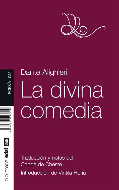 libro spanish novels comedia de la divina comedia by dante alighieri read book online