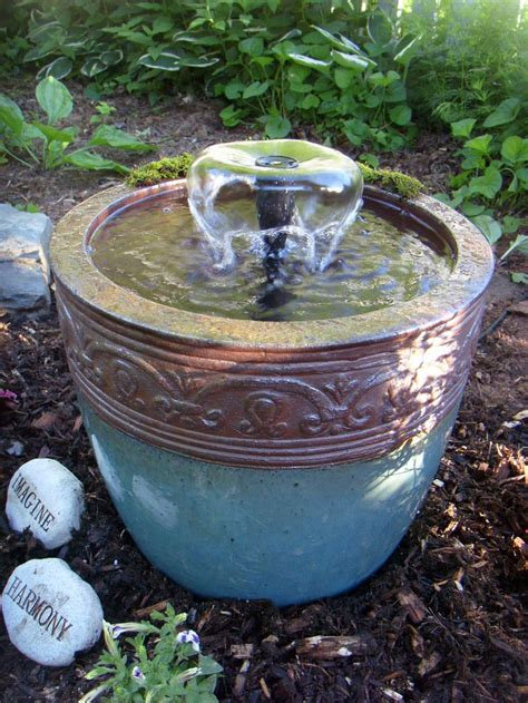 Diy Design Outdoor Fountains Ideas Diy Pot Design Ideas