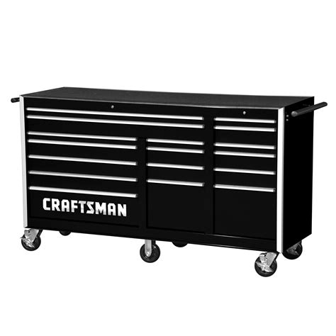 craftsman professional cabinet saw craftsman 75 quot 17 pro rolling cabinet with