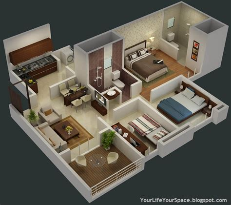 2 bhk flat design plans your life your space gini bellina dhanori lohegaon road