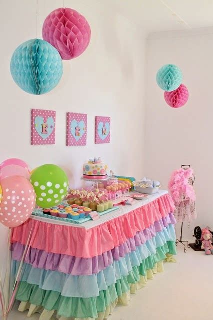 themes for little girl parties 34 creative girl first birthday party themes ideas my