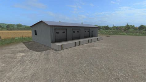Warehouse Ls by Warehouse Prefab V1 0 0 0 For Ls 17 Farming Simulator