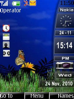 download themes hp nokia e66 desktop slide bar s40 theme