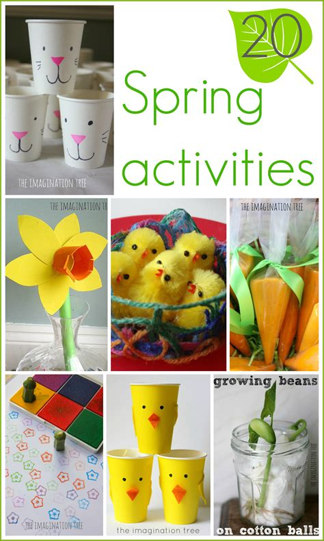 Spring Ideas 15 Spring Activities For Kids The Imagination Tree