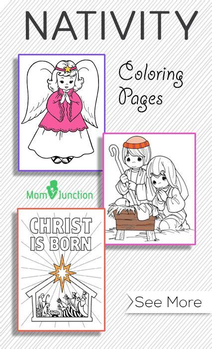 daily coloring pages nativity top 10 free printable nativity coloring pages online