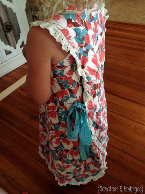 easy wrap dress pinafore  blouse sewing tutorial
