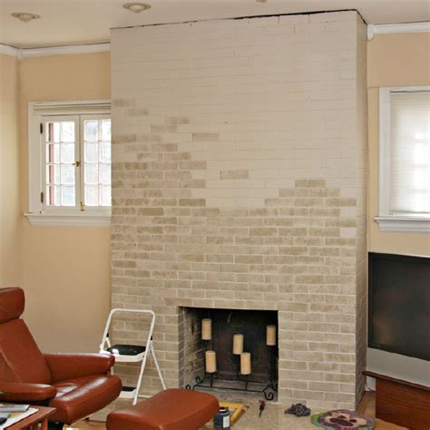fireplace colors painted brick fireplace makeover